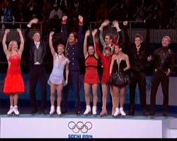 Сочи-2014. Фигурное катание. Великолепная десятка российских фигуристов выиграла `золото`