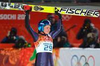 Сочи-2014. Прыжки с трамплина. Немка Карина Фогт - первая в истории олимпийская чемпионка