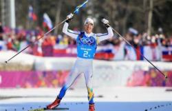 Сочи-2014. Лыжные гонки. Шведы взяли `золото` в эстафете, у россиян первая медаль в лыжах