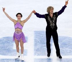 Сочи-2014. Фигурное катание. Американцы впервые выиграли `золото` в танцах на льду