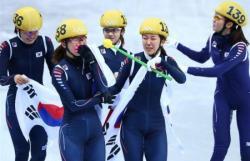 Сочи-2014. Шорт-трек. Кореянки стали самыми быстрыми в эстафете на 3000 метров