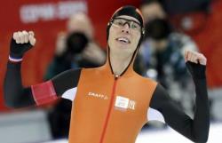 Сочи-2014. Коньки.  Историческое достижение голландских конькобежцев