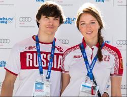 Сочи-2014. Сноуборд. Параллельный гигантский слалом. Две медали - в одной российской семье