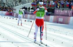 Сочи-2014. Лыжные гонки. Марит Бьорген и Ингвильд Остберг выиграли командный спринт