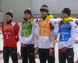 Сочи-2014. Биатлон. Российские мужчины впервые с 1988 года выиграли эстафету