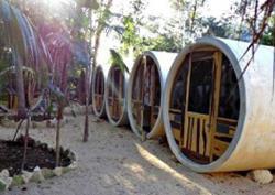 В Индии открылся отель, предлагающий туристам отдых в `комфортабельной трубе`