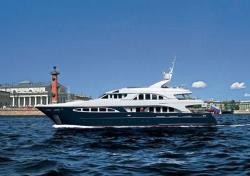 На рубеже мая и июня Санкт-Петербург станет местом проведения парада яхт