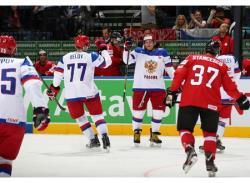 Хоккей. ЧМ-2014. Сборная России начала турнир с крупной победы над Швейцарией