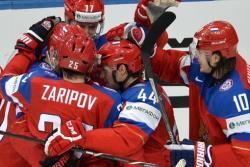 Хоккей. ЧМ-2014. Сняв `финское проклятье` сборная России вышла в лидеры своей группы
