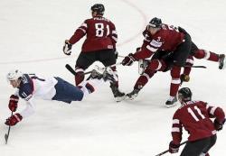 Хоккей. ЧМ-2014. Латвия продолжает удивлять - вслед за финнами повержена команда США