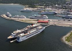 В порту Таллина открывается причал для круизных судов длиной до 340 метров