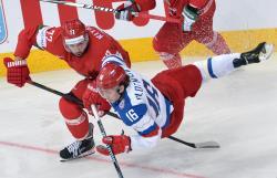 Хоккей. ЧМ-2014. Россияне после семи побед сыграют четвертьфинал с французами