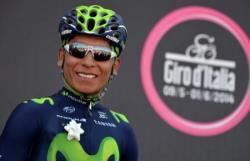 Велоспорт. Колумбиец Наиро Кинтана выиграл `Джиро д`Италия`