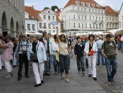 За год с апреля 2013 года число туристов, ночевавших в Эстонии, выросло на 11%