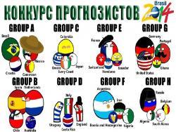 Призовой конкурс прогнозов на матчи XX Чемпионата мира по футболу