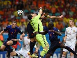 Футбол. ЧМ-2014. Сборная Голландии взяла убедительный реванш у чемпионов мира 2010 года