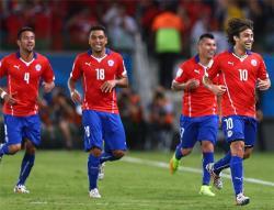 Футбол. ЧМ-2014. Сборная Чили начала турнир с победы над Австралией