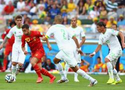 Футбол. ЧМ-2014.  Выиграв первый тайм у Бельгии, Алжир всё-таки проиграл ей матч