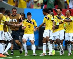 Футбол. ЧМ-2014. Сборная Колумбии впервые выиграла два матча на одном чемпионате мира