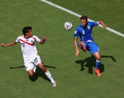 Футбол. ЧМ-2014. Коста-Рика вышла в плей-офф из группы с участием трёх экс-чемпионов мира