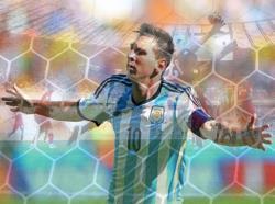Футбол. ЧМ-2014. Гол Лионеля Месси в ворота Ирана выводит Аргентину в плей-офф