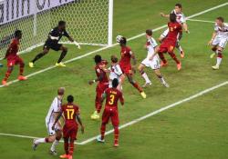 Футбол. ЧМ-2014. Германия и Гана порадовали зрителей яркой и результативную ничьей