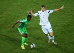 Футбол. ЧМ-2014. Проиграв Нигерии, Босния лишилась шансов на выход из группы