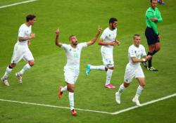 Футбол. ЧМ-2014. Алжир побеждает Корею и выходит на второе место в группе Н