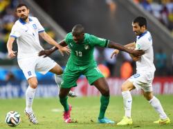 Футбол. ЧМ-2014. Сборная Греции вырвала место в плей-офф у Кот-д-Ивуара
