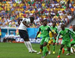 Футбол. ЧМ-2014. Франция победила чемпиона Африки и вышла в четвертьфинал