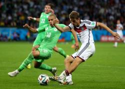 Футбол. ЧМ-2014. Алжир дал бой немецкой сборной, но уступил ей место в четвертьфинале