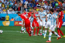 Футбол. ЧМ-2014. Швейцарцы уступили грозным аргентинцам только в дополнительное время