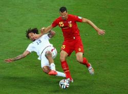 Футбол. ЧМ-2014. Одолев США, бельгийцы завершили выбивание из турнира вторых команд групп