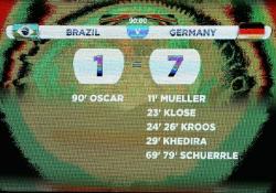 Футбол. ЧМ-2014. Полуфинал. Матч, который переписал историю: Германия - Бразилия - 7:1