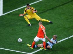 Футбол. ЧМ-2014. Аргентина в серии пенальти вырвала у Голландии путёвку в финал