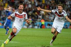 Футбол. ЧМ-2014. Сборная Германии в четвёртый раз стала чемпионом мира по футболу