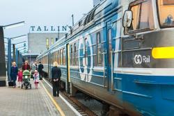 С 1 августа снижается стоимость проезда на поезде из Таллина в Нарву