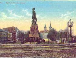 Памятник Петру I в Таллине (Ревеле)