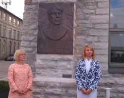 В Таллине открыт барельеф адмиралу Ивану Фёдоровичу Крузенштерну