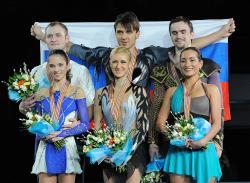 Фигурное катание. Все три первые медали чемпионата Европы достались россиянам