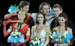 Фигурное катание. Чемпионат Европы. Танцоры принесли России две медали.
