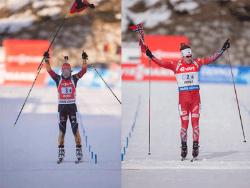 Биатлон. Кубок мира. Эстафетные гонки в Антерсельве выиграли норвежцы и немки
