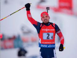 Биатлон. Великолепный финишный этап Антона Шипулина принёс России `золото` эстафеты