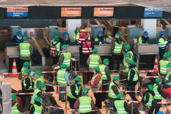 `Пассажиры` приступили к тестированию нового аэропорта Берлина