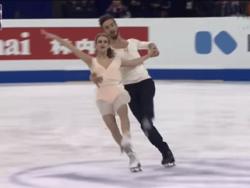 Фигурное катание. ЧМ-2015. Чемпионами мира в танцах на льду стали французы