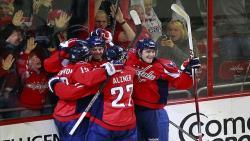 НХЛ-2014/2015. `Вашингтон Кэпиталз` обыграл `Детройт` и вышел в плей-офф Кубка Стэнли