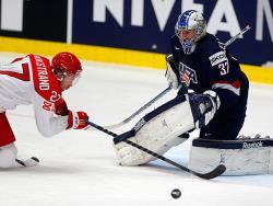 Хоккей. ЧМ-2015. Сборная США, забив один гол датчанам, вернула себе лидерство в группе