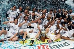 Баскетбол. Мадридский `Реал` впервые за двадцать лет выиграл Евролигу