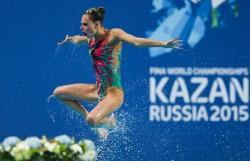 Водные виды спорта. ЧМ-2015. Ищенко выиграла 19-е `золото` в карьере, а Ромашина - 18-е